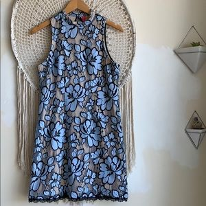 ANTHRO Plenty By Tracy Reese Floral Lace Dress. 8